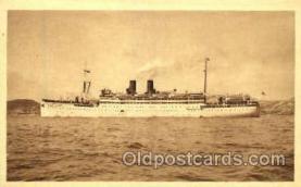 shi008671 - Compagnie De Navigation Paquet - Marseille Steamer Ship Ships Old Vintage Postcard Postcards