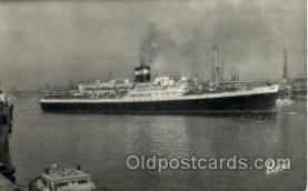 shi008674 - El Mansour Steamer Ship Ships Old Vintage Postcard Postcards