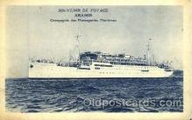 shi008675 - Souvernir De Voyage Aramis Steamer Ship Ships Old Vintage Postcard Postcards