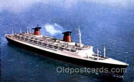shi008678 - Le Havre, France de la Compagnie Steamer Ship Ships Old Vintage Postcard Postcards
