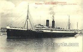 shi008689 - Paquebot Rochambeau Steamer Ship Ships Old Vintage Postcard Postcards