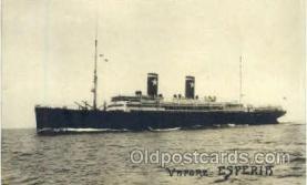 shi008700 - Vrpore Esperir Steamer Ship Ships Old Vintage Postcard Postcards