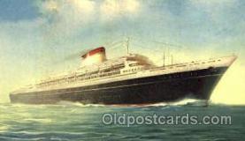 shi008715 - T/N Leonardo Da Vinci Steamer Ship Ships Old Vintage Postcard Postcards
