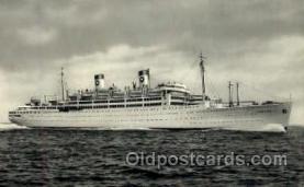 shi008723 - Home Lines M/S Italia Steamer Ship Ships Old Vintage Postcard Postcards