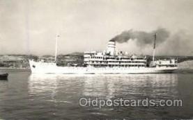 shi008731 - TSS Kedmah Steamer Ship Ships Old Vintage Postcard Postcards