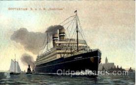 shi008747 - Rotterdam N.A.S.M. Steamer Ship Ships Old Vintage Postcard Postcards