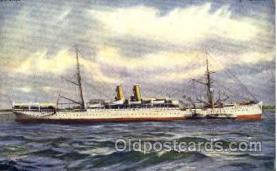 shi008764 - Norddeutschen Lloyd. Lloyd Line, SS Predssen Steamer Ship Ships Old Vintage Postcard Postcards