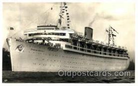shi008765 - K.d.F. Schiff Wilhelm Gustloff, Torpedoed in 1945, 6096 Died  Steamer Ship Ships Old Vintage Postcard Postcards