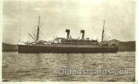 shi008767 - Monte Olivia Steamer Ship Ships Old Vintage Postcard Postcards