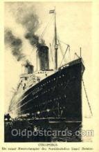shi008793 - Norddeutschen Lloyd, Bremen Steamer Ship Ships Old Vintage Postcard Postcards