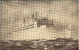 shi008818 - Swedish American Liners Kungsholm - Gripsholm Steamer Ship Ships Old Vintage Postcard Postcards