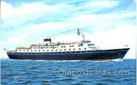 shi008838 - MS. Stella Maria II, Sun Line Steamer Ship Ships Old Vintage Postcard Postcards