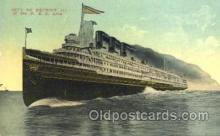 shi008844 - City of Detroit, III, D & C Line Steamer Ship Postcard Postcards