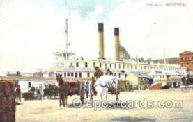 shi008849 - Montreal Steamer Ship Postcard Postcards