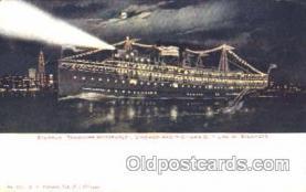 shi008852 - Theodore Roosevelt Steamer Ship Postcard Postcards