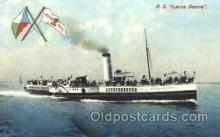 shi008858 - PS Lorna Doone Steamer Ship Postcard Postcards