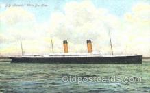 shi008861 - SS Oceanic Steamer Ship Postcard Postcards