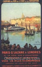 shi008873 - Paris - St. Lazare A Londres Steamer Ship Postcard Postcards