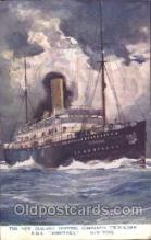 shi008876 - R.M.S. Rimutaka Steamer Ship Ships Postcard Postcards