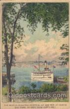 shi008890 - The Boston Floating Hospital Steamer Ship Ships Postcard Postcards