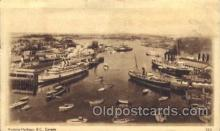 shi008896 - Victoria Harbour, B.C. Cannada Steamer Ship Ships Postcard Postcards