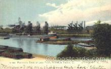 shi008901 - Minnesota Dock at Lake Front, Ashtabula Harbor,O,USA Steamer Ship Ships Postcard Postcards