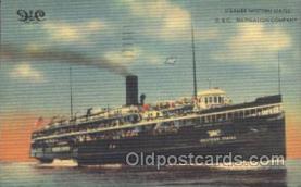 shi008909 - Steamer Western States Steamer Ship Ships Postcard Postcards