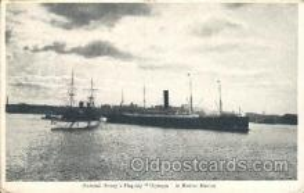 shi008912 - Olympia Steamer Ship Ships Postcard Postcards