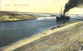 shi008918 - Canal:Entr?e au chantier Steamer Ship Ships Postcard Postcards