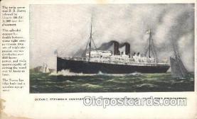 shi008921 - S.S. Sierra, S.S Sonoma, S.S. Ventura Steamer Ship Ships Postcard Postcards