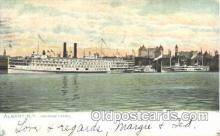 shi008926 - Albany,N.Y.,USA Steamer Ship Ships Postcard Postcards