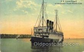 shi008948 - S.S. Prince Rupert Steamer Ship Ships Postcard Postcards