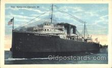 shi008956 - Pere Marquette Carferry Steamer Ship Ships Postcard Postcards