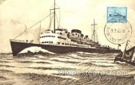 shi008961 - Prince Baudouin Steamer Ship Ships Postcard Postcards