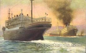 shi008974 - M.S. Viminale S.S. Tevere Steamer Ship Ships Postcard Postcards