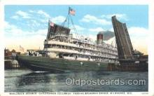 shi008983 - Christopher Columbus Steamer Ship Ships Postcard Postcards