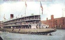 shi008984 - Christopher Columbus Steamer Ship Ships Postcard Postcards