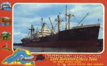 shi008994 - Lake Superior Circle Tour Steamer Ship Ships Postcard Postcards