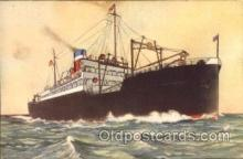 shi009003 - United States Lines<br><br>American Shipper postcard postcards