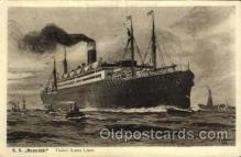 shi009046 - S.S. Republic Ship Ships Postcard Postcards
