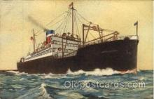 shi009048 - United States Line Ship Ships Postcard Postcards
