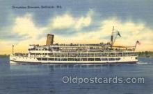 shi009054 - Excursion Steamer Steamer Ship Ships Postcard Postcards