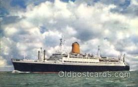 shi009057 - T.S. Bremen Steamer Ship Ships Postcard Postcards