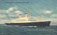shi009058 - S.S. Independence Steamer Ship Ships Postcard Postcards