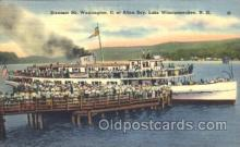 shi009062 - Steamer Mt. Washington II Steamer Ship Ships Postcard Postcards