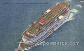 shi009064 - Steamer Island Queen Steamer Ship Ships Postcard Postcards