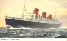 shi009066 - R.M.S. Queen Mary Steamer Ship Ships Postcard Postcards