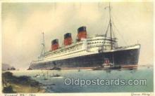 shi009067 - R.M.S. Queen Mary Steamer Ship Ships Postcard Postcards