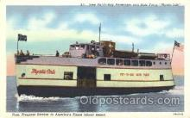 shi009071 - Mystic Isle Steamer Ship Ships Postcard Postcards