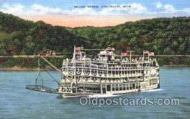 shi009079 - Steamer Island Queen Steamer Ship Ships Postcard Postcards